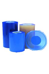 ULTRON Sägefolien bestehen aus dem Basifilm ist meist PVC und frei von Silikontrennmitteln. Die Sägefolien werden in verschiedener Dicke, Breite und unterschiedlicher Klebkraft angeboten.