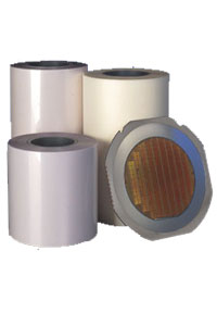 ULTRON UV sensitive dicing tapes are based on PVC, PO or PT plastics. Some UV-sensitive films are equipped with an additional antistatic layer.